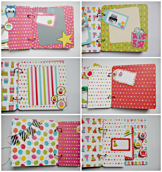 Lbum scrapbooking fiesta anita y su mundo for Paginas de ideas de decoracion