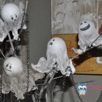 Manualidad para Halloween: Luces Fantasmas