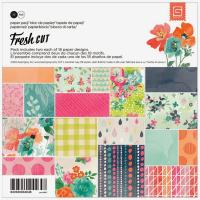 Papel Scrap 6x6 Basic Grey Fresh Cut pack