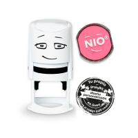 Sello personalizable NIO Shiny pink