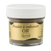 Polvo de embossing Aladine 30ml Metal oro