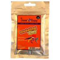 Pasta modelar Think & Enjoy 25g Naranja
