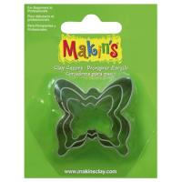 Cortador Mariposas Makin´s Pack 3