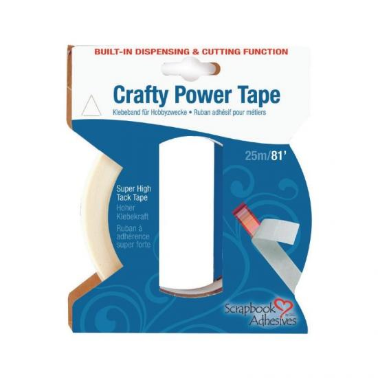 Cinta doble cara Crafty power 25m