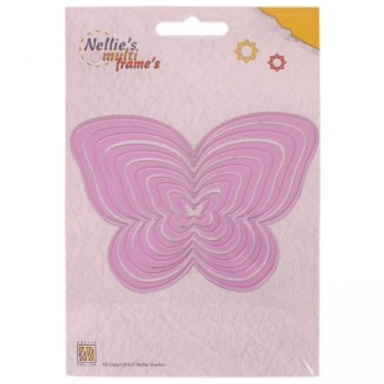 Multicortador Scrap Nellie´s Mariposas MFD064