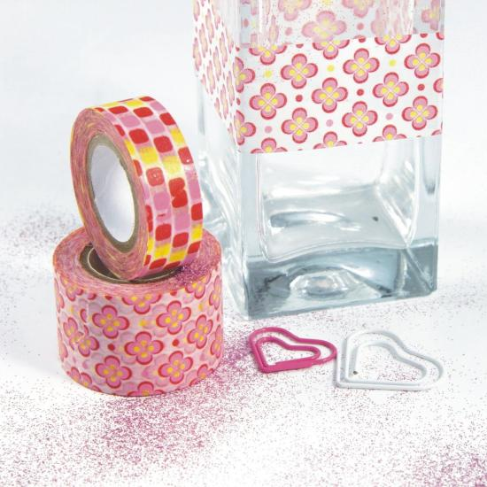 Cinta decorativa adhesiva Washi Pop Candy 2u.