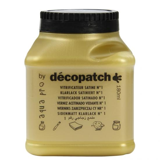 Vitrificador satinado Décopatch 180ml